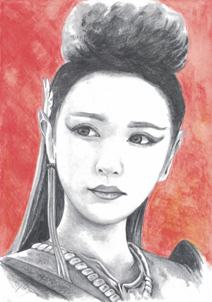 Zhang Meng by ZiaCz
